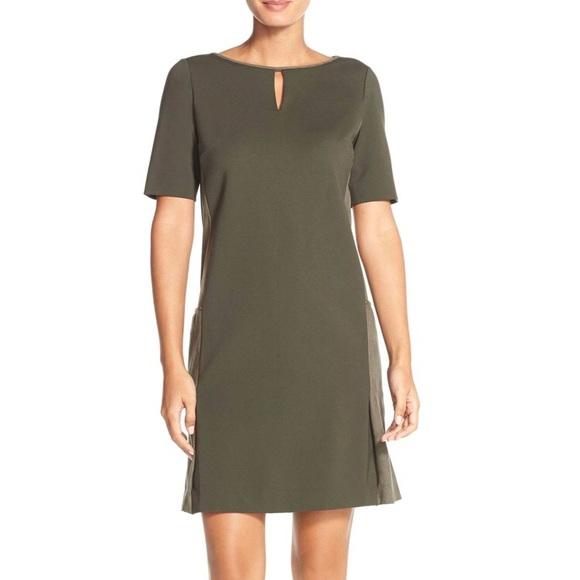 5ade5ef787bc Tahari Dresses   Nwt Ponte Hunter Green Shift Dress By   Poshmark